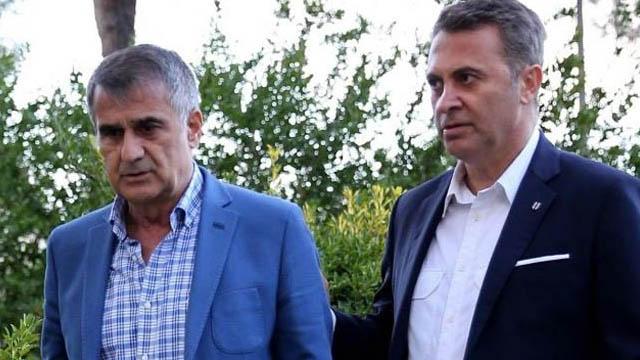 Şenol Güneş imzayı atmadı Beşiktaş yönetimi 'kur' restini çekti