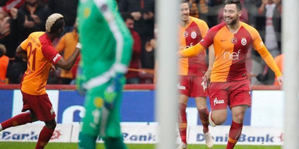 Cimbom gol yağdırdı: 6-0